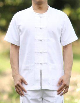 เสื้อขาว-ปฏิบัติธรรม-ไปวัด-ทำบุญ