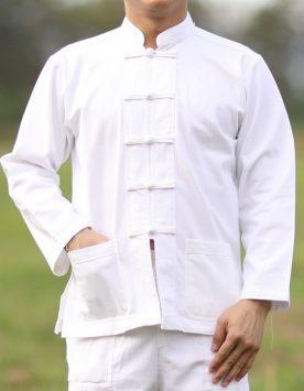 เสื้อขาว-ผ้าา