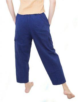 กางเกงหม้อห้อม-ม่อฮ่อม-หม้ออ่อม-ขายาว-ยางยืด