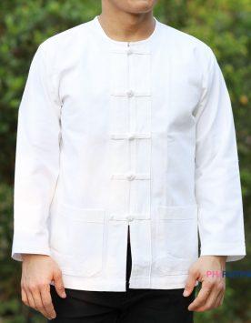 เสื้อคอกลม-แขนยาว-สีขาว-ผ้าฝ้าย-f-scaled